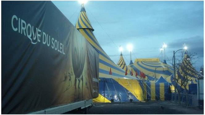 Cirque du Soleil files for bankruptcy